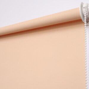 Рулонная штора. Омега персиковый